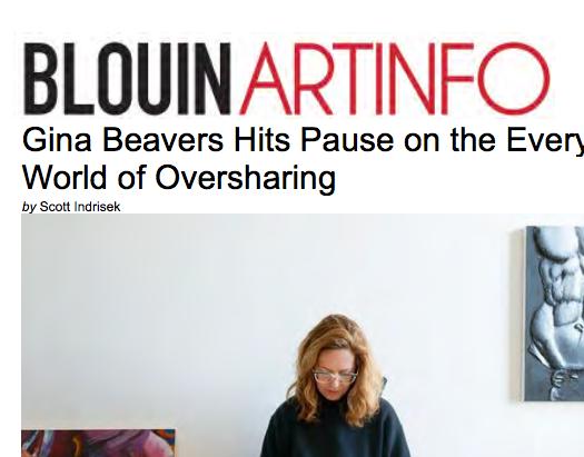 Blouin Art Info, review- 2014