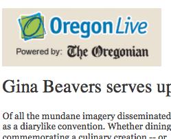 Oregon Live, review 2013