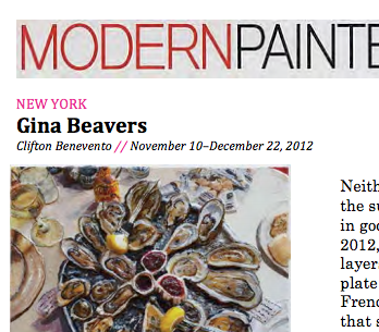 Modern Painters, review - 2013