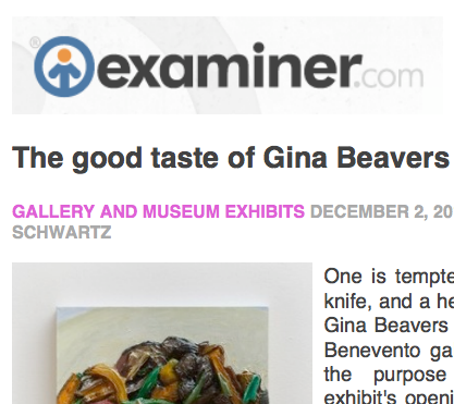 The Examiner, review - 2012