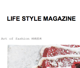 Life Style Magazine, review - 2012