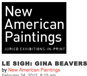 New American Paintings, review- 2012