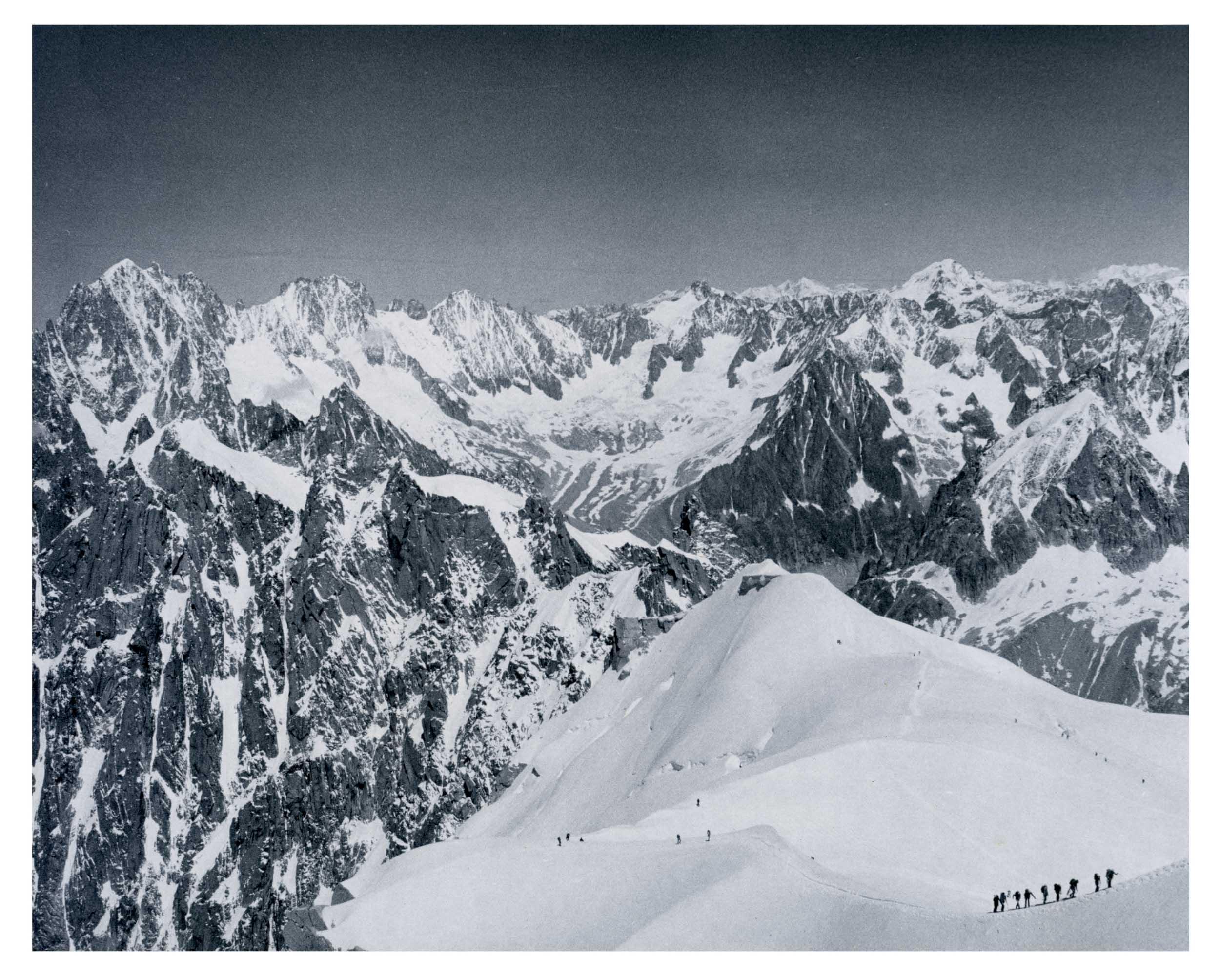 La Vallée Blanche,<br>Chamonix