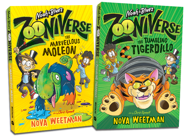 Collect all 4 ZOONIVERSE adventures in the series -