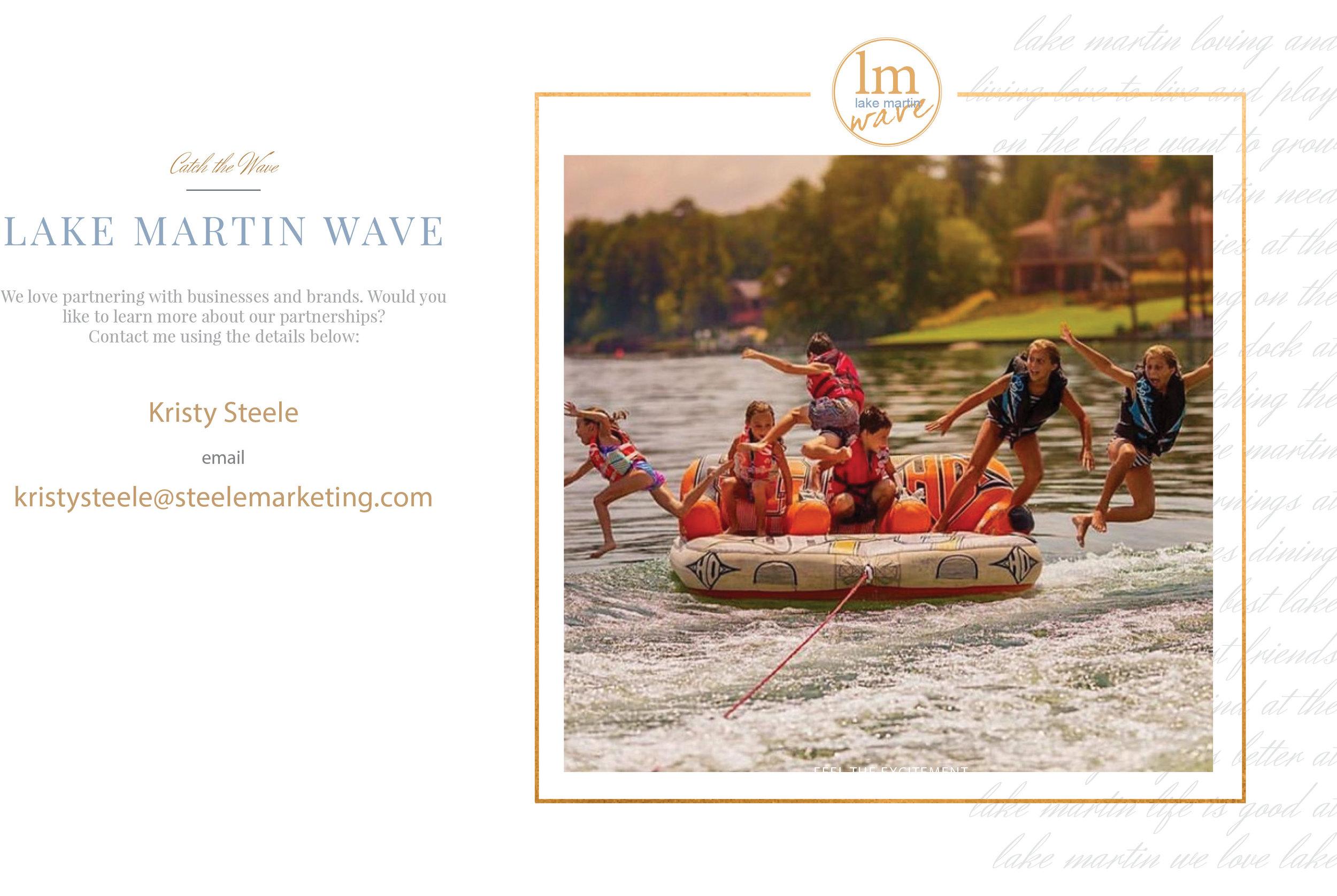 Lake Martin Wave Ads