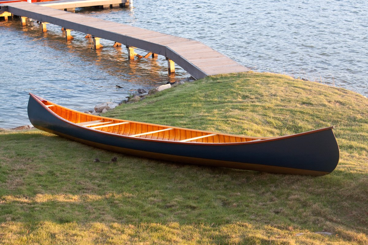 Ambrose Canoe - Traditional Wood Canvas Canoes