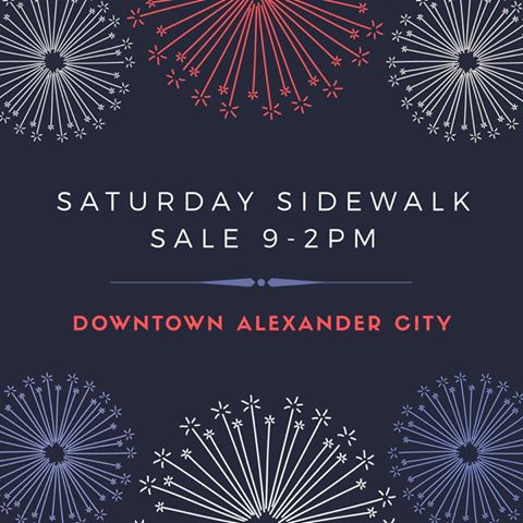 Downtown Alexander City - July 1