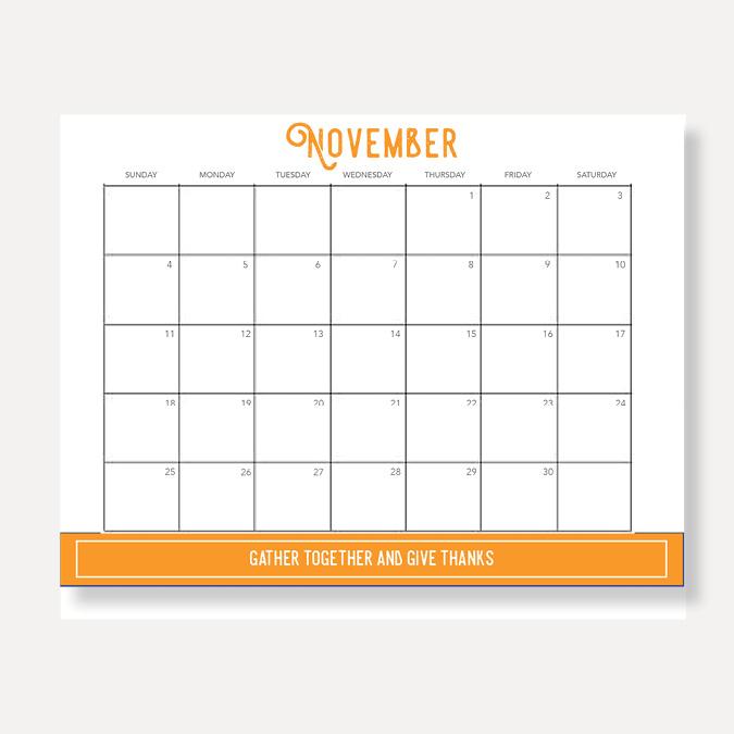 Click to Download:  Calendar