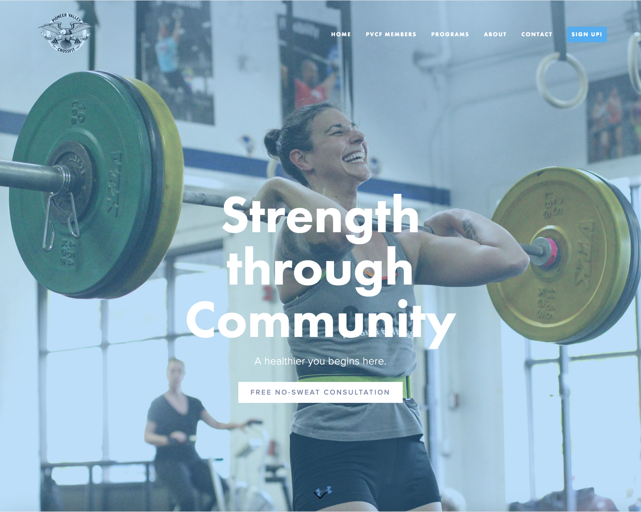 We are so very thrilled about our New Website! If you see anything, or have suggestions, please let Lizzy know:) liz@pioneervalleycrossfit.com