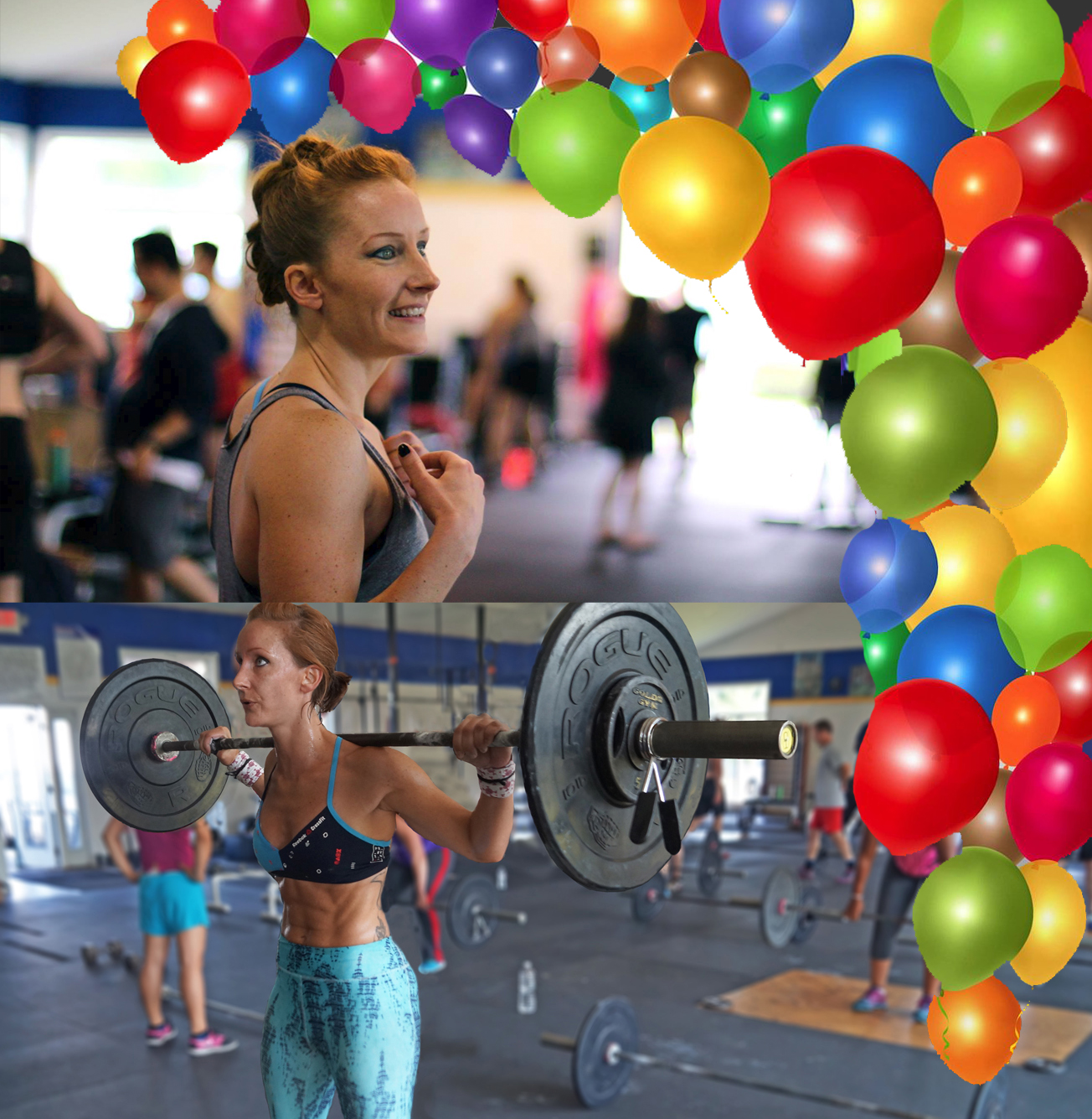 What a fun day for a Birthday! Here's to our own, Gabby Washburn, the Director of PVCF's Billing, and a phenomenal athlete, friend, and workout cheerleader!