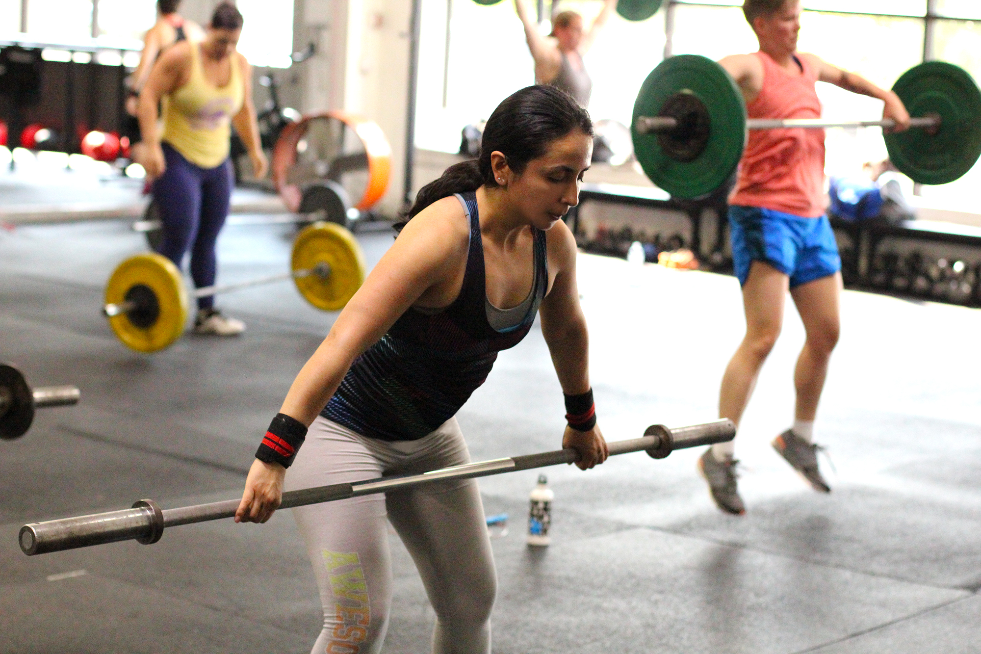 """This is one of our newest members, Diana Soler. Here is what she has to say about her experience so far:  """"People from all walks of life end up in a class together, sweat together, suffer together and work hard on weaknesses together. Through these experiences they become friends and walls are broken down."""""""