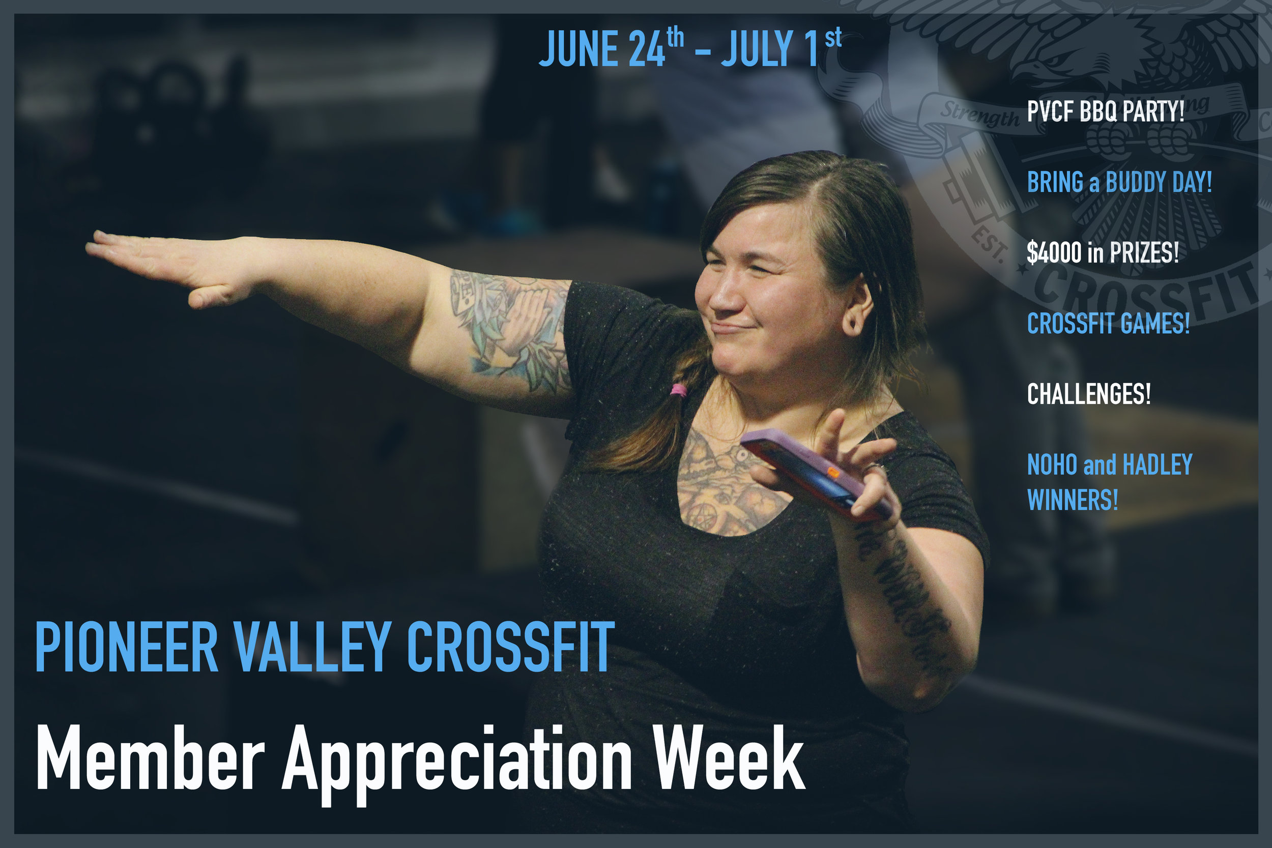 PVCF BBQ and Bring a Buddy Day! Over $4000 in prizes and celebration...JUST FOR YOU!  Click  here  to join in the fun!