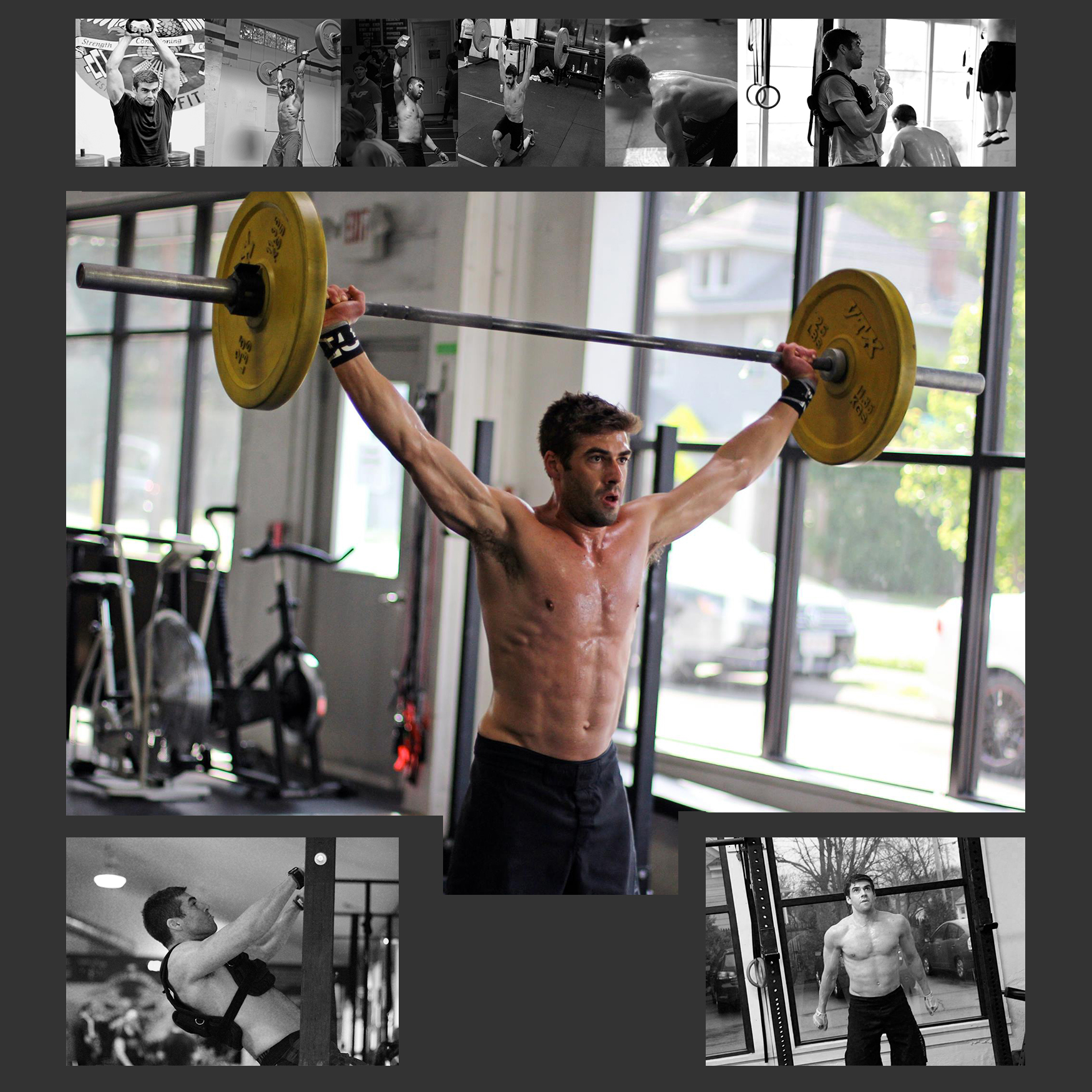 CrossFit Dads Inspire! Happy Birthday to PVCF athlete, Mukunda Feldman!