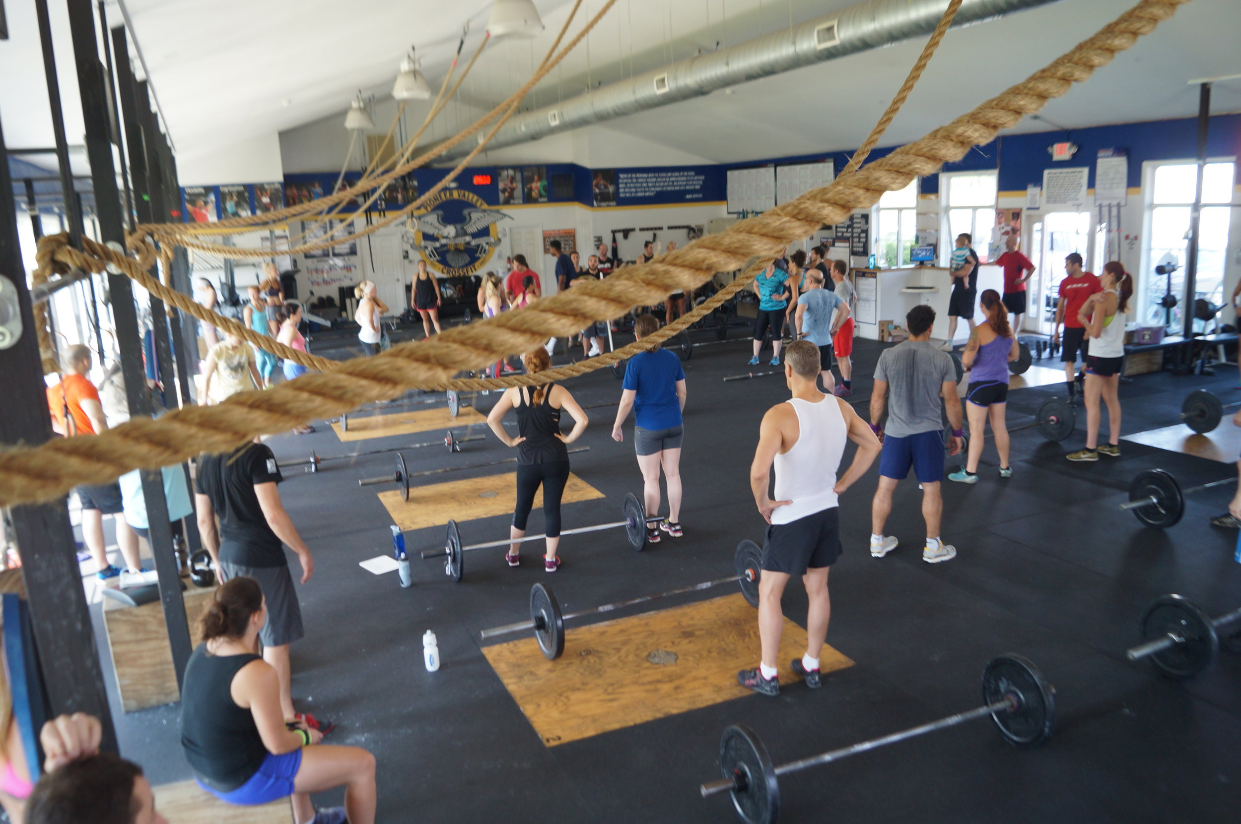 It's a beautiful weekend to be a CrossFitter! Here's to you, Pioneer Valley CrossFit!           <3