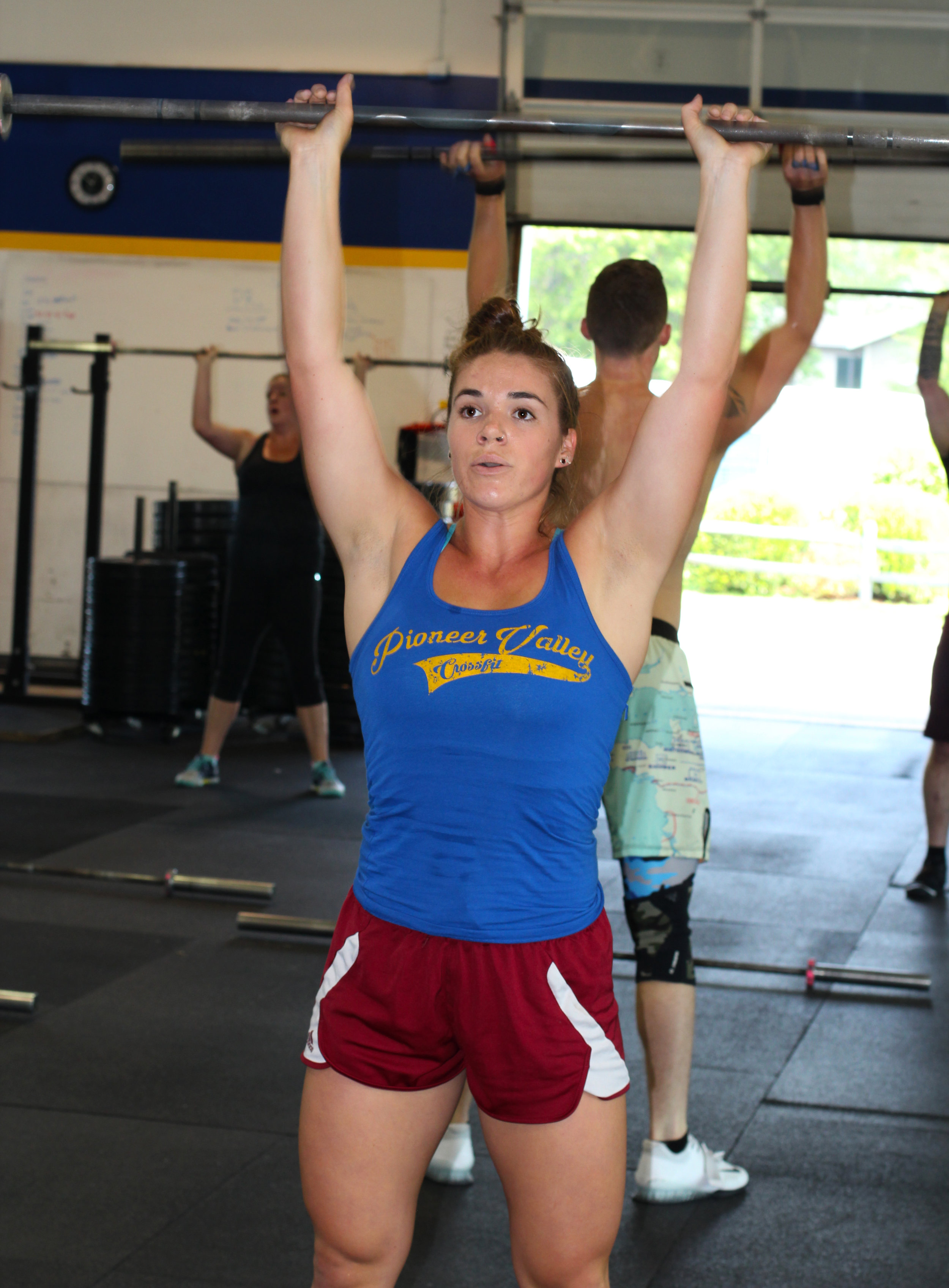 Here's Haley! Newly wed and newly CrossFit Level 1 certified!