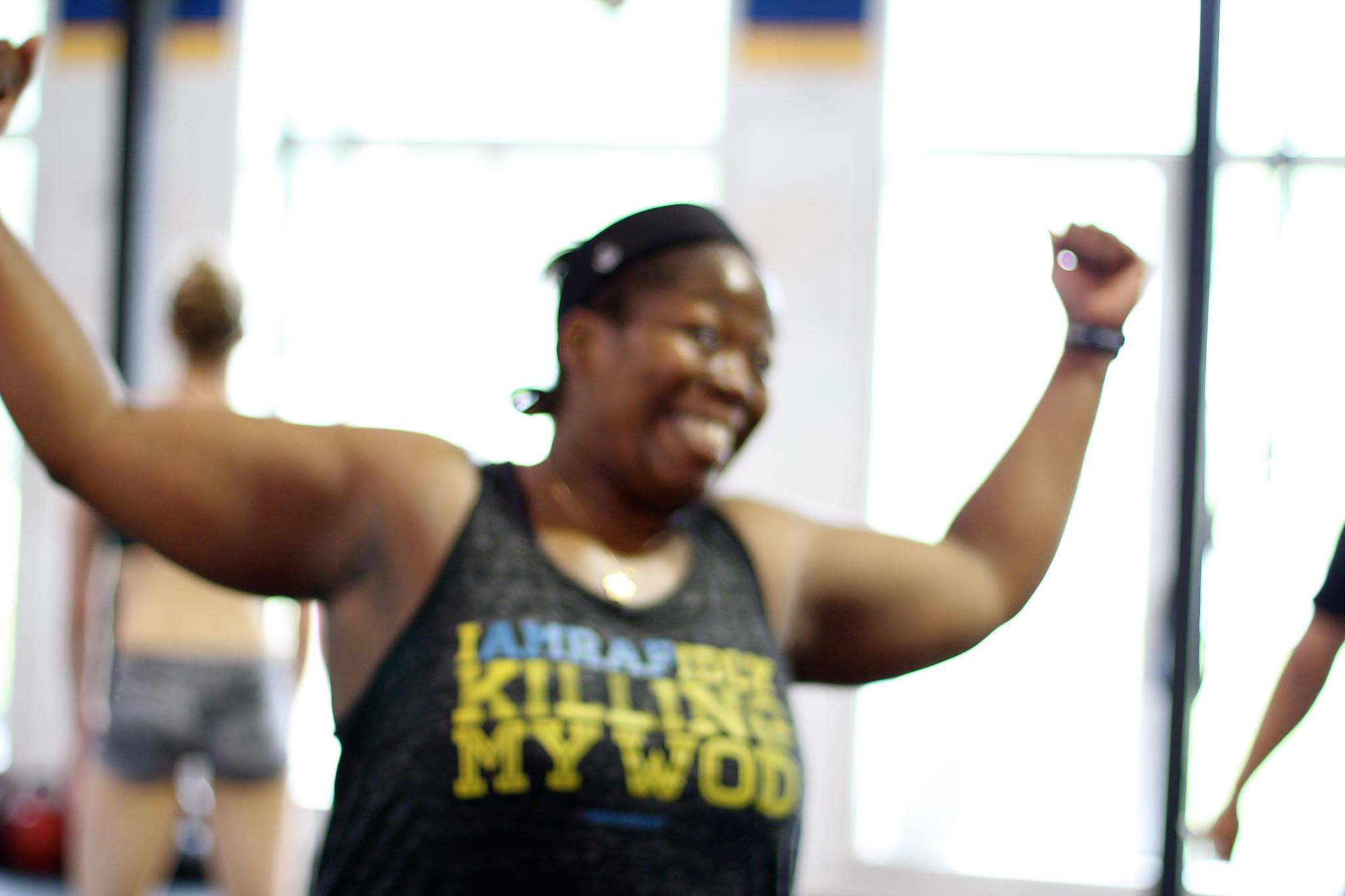How we picture PVCF athlete, Dre Domingue's reaction upon reading Sunday's WOD!