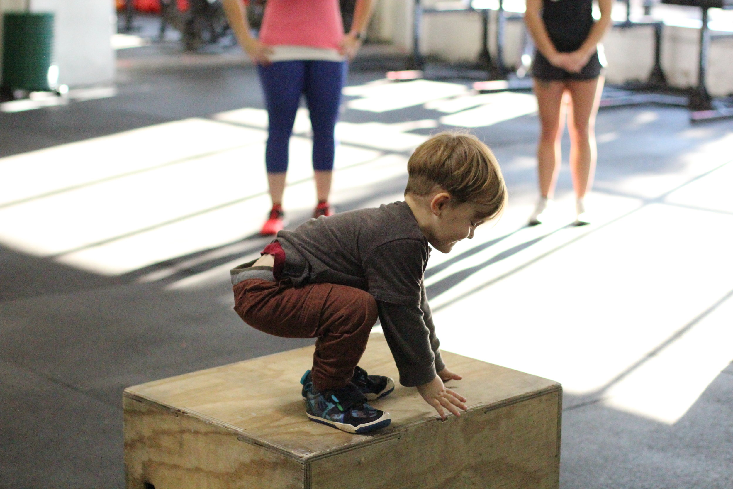 Some inspiration for all of those Burpee Box Jumps!