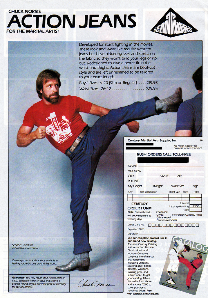 Action Jeans: for when you need to CrossFit and kick a$% ;)