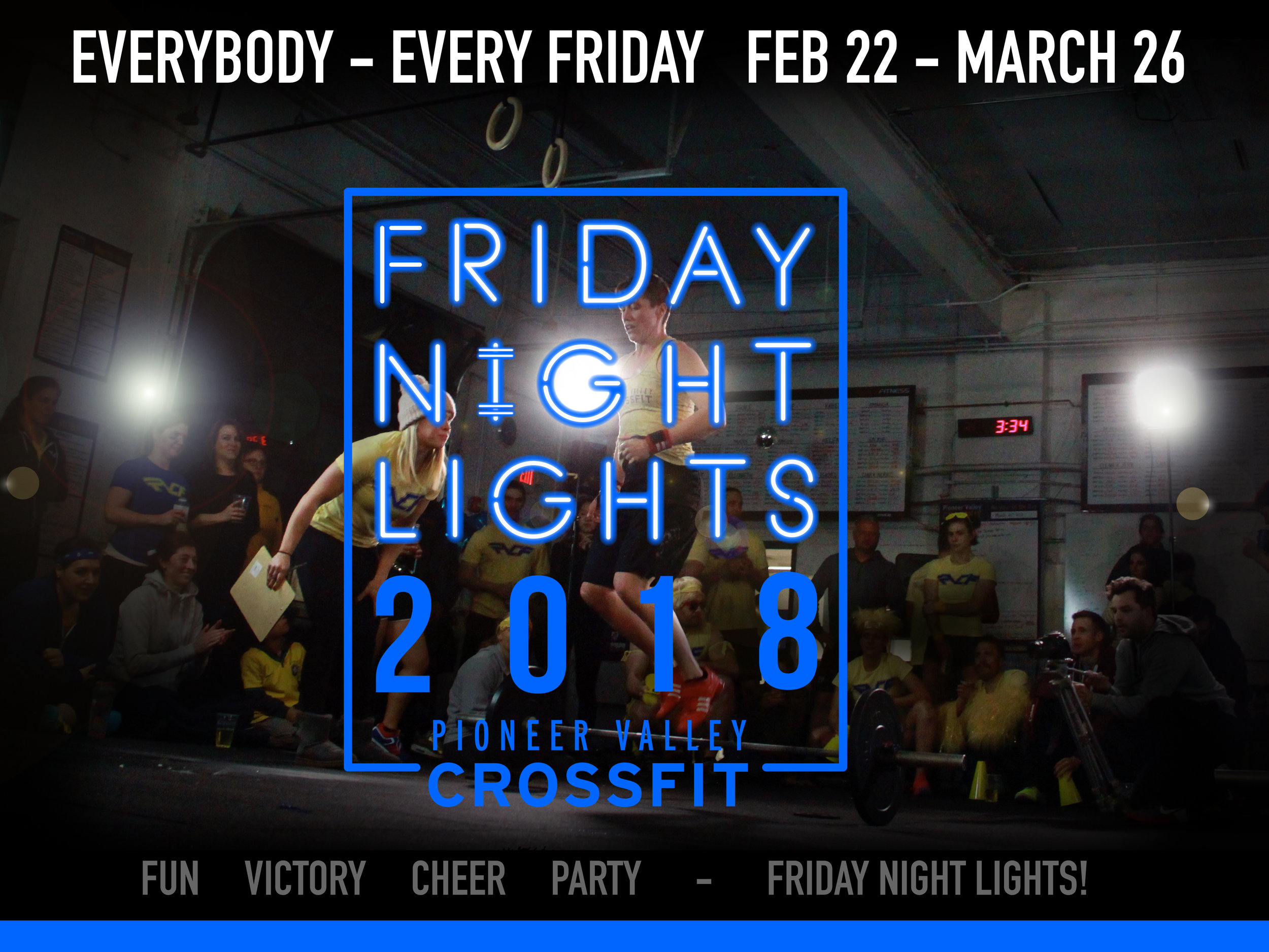 If you haven't checked out the fun at the gym, Friday Night will be the best time to stop by! Cheer on your friends and come to the award ceremony and party at 8.00!