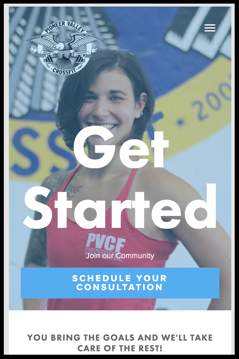 Did you know? We offer Free Consultations to people interested in Pioneer Valley CrossFit! Perhaps you know someone who has wanted to try us out but has felt nervous about jumping into a workout? THIS would be perfect for them! Send them this link:   https://PVCFscheduler.as.me/consultation