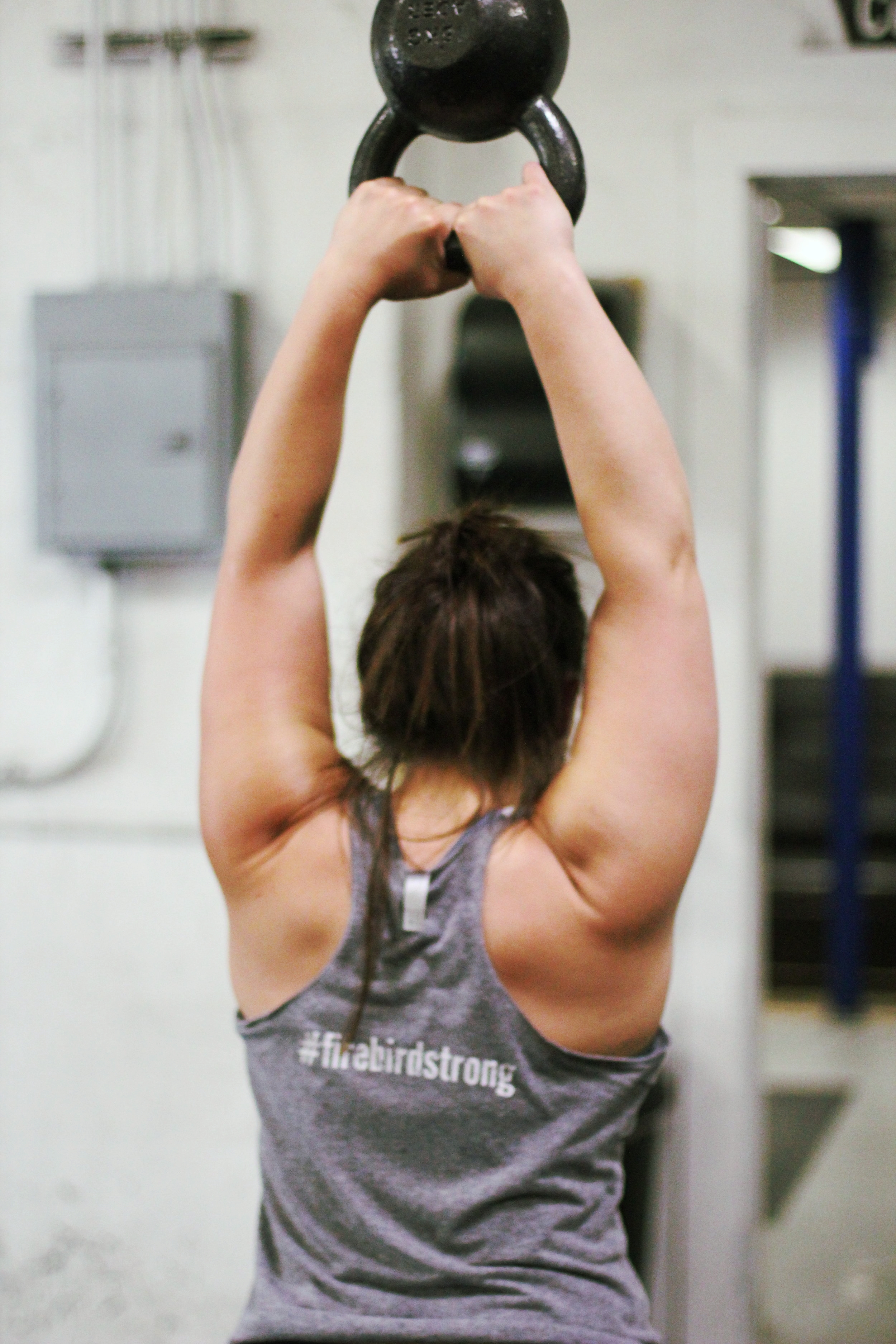 Kettlebell swings give you wings! Here's PVCF athlete, Julia Boyle showing us how it's done!