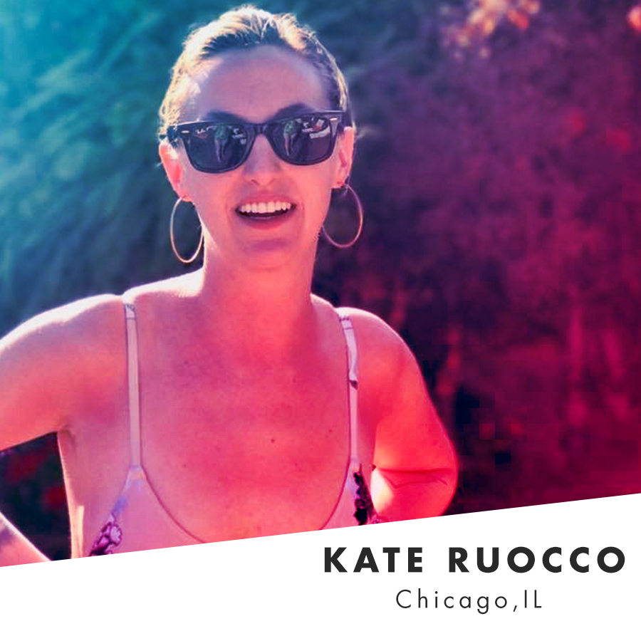Living and working in Chicago, Kate is an interior designer, certified yoga instructor, energy healer, intuitive medium and french fry enthusiast. She would like everyone to know that she is extremely tan in this photo and that you, too, can achieve this level of bronzed goddess-ness with a little patience and commitment to a solid base burn.    @keruocco      Website