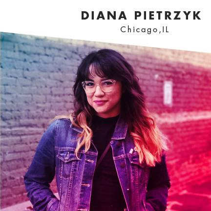 Part time living in her cosmic imagination, full time Chicago native. Diana is an art director working in the ad world but really enjoys exploring her passions in illustration + photography. She has a love for things that twinkle and glow.    @dyanapyehchek      Website