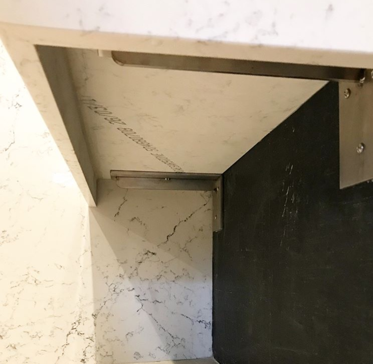 Boston, MA - Shower Bench Brackets