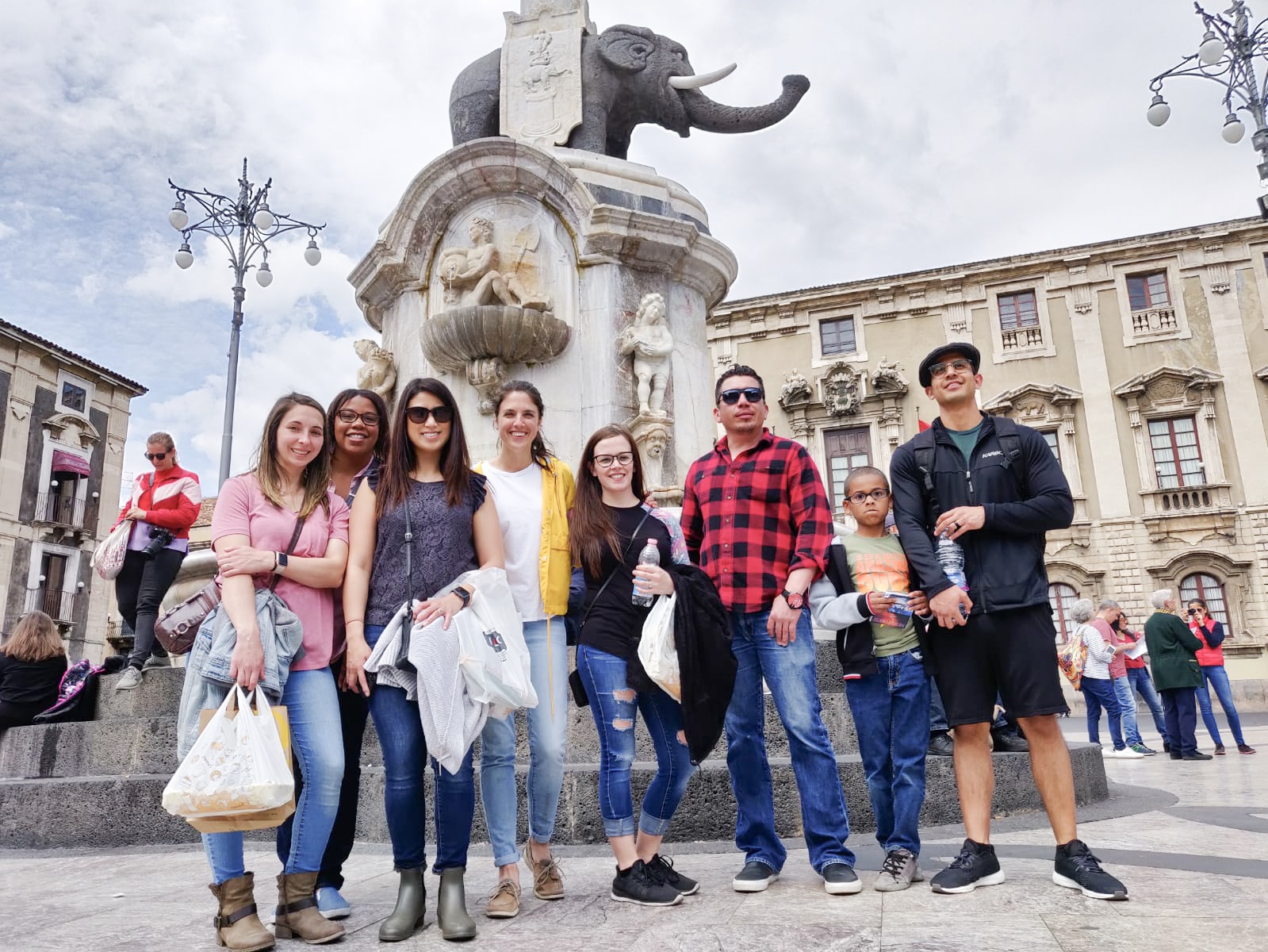 Fontana dell'Elefante in Catania