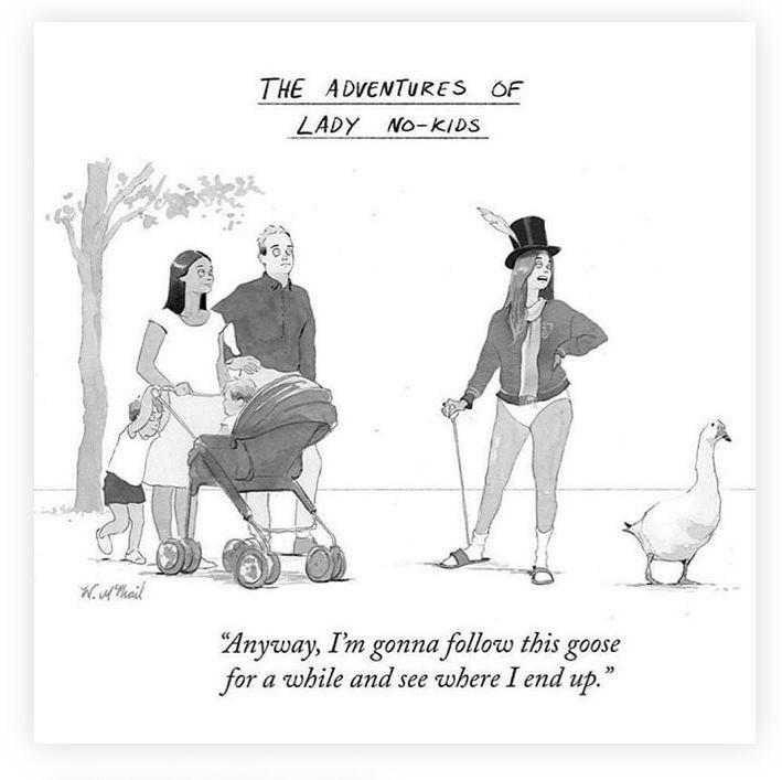 Cartoon via The New Yorker Magazine