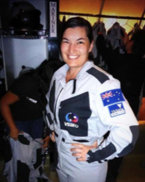 Andrea Boyd  International Space Station Flight Controller at the European Space Agency