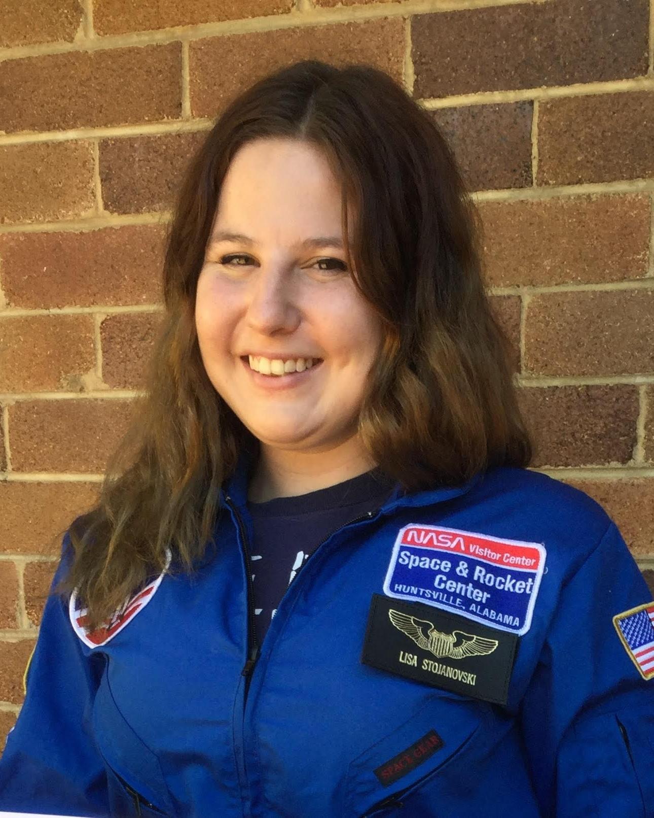 Lisa Stojanovski  TMRO:Space Correspondent