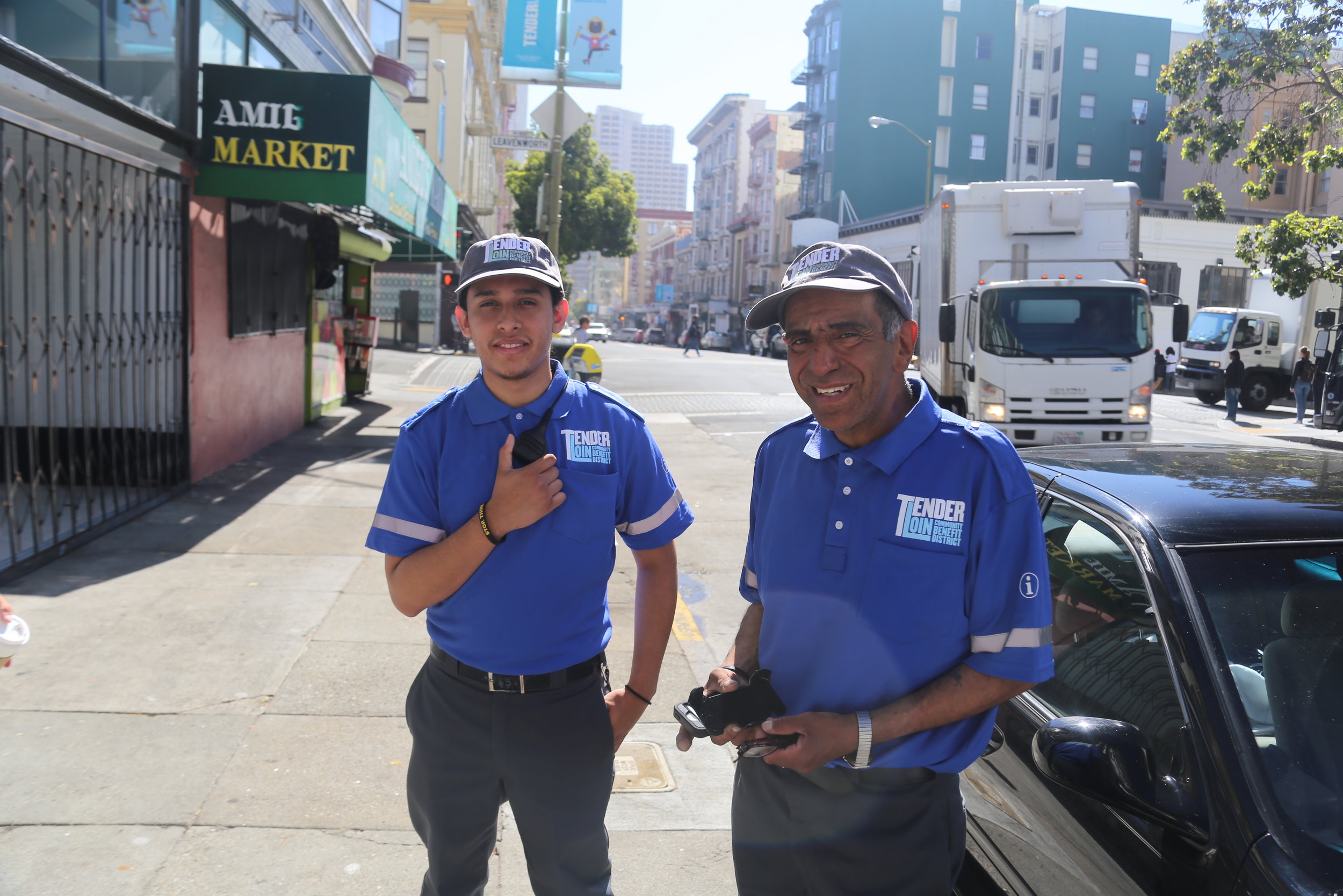 CLEAN TEAM - Our Clean Team service partners work 7 days a week focused on keeping the Tenderloin neighborhood clean.READ MORE
