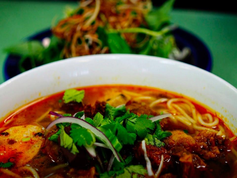 Bun rieu soup from Mong Thu   Image: Mong Thu/Facebook