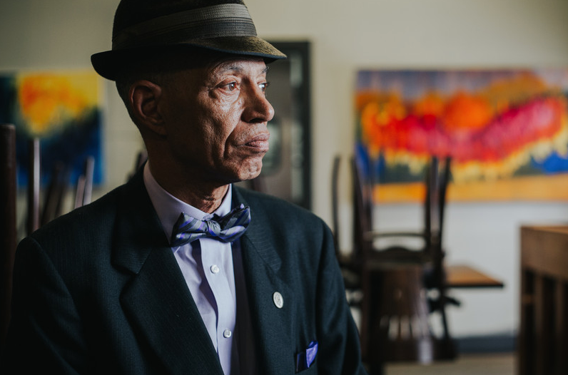 Del Seymour as photographed by  Brenton Gieser ,  Tender Souls Project