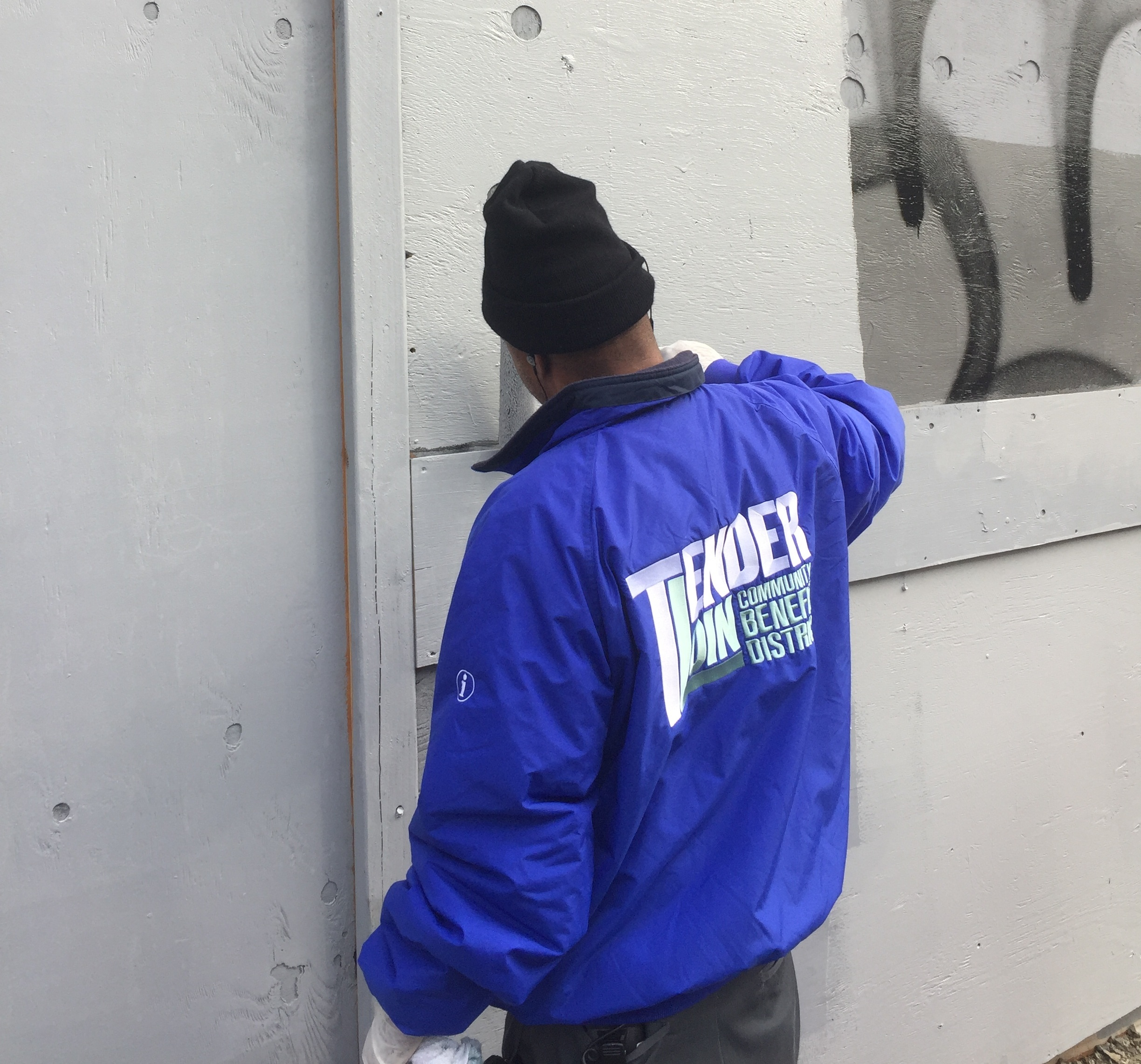 Have you seen these jackets out and about? Say hello to our Clean Team members!