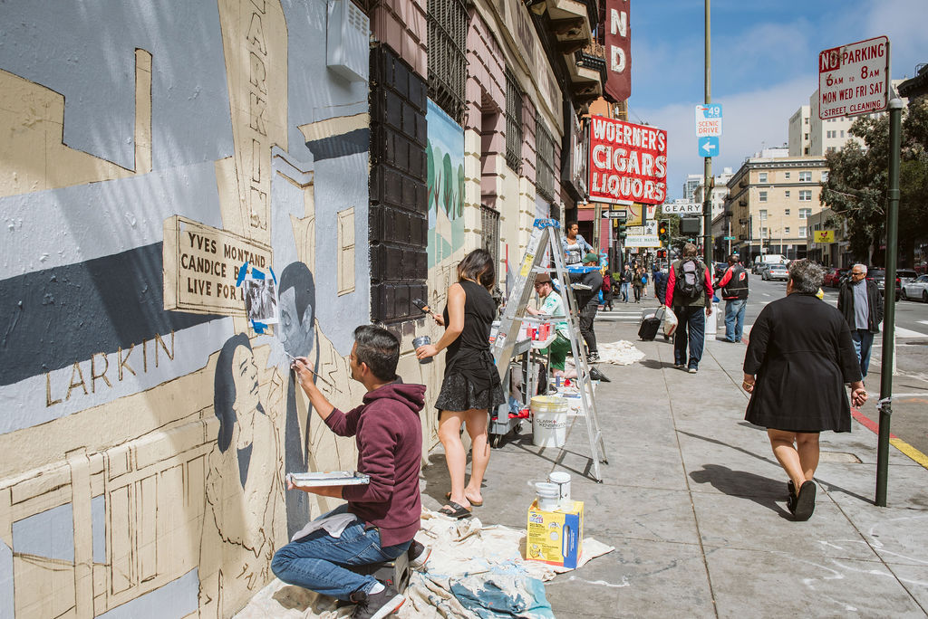 neighborhood pride - Comprised of artists, workers, learners, leaders, and heroes, the Tenderloin is a place where we celebrate diversity & look to cultivate community through events, projects, and spaces.READ MORE
