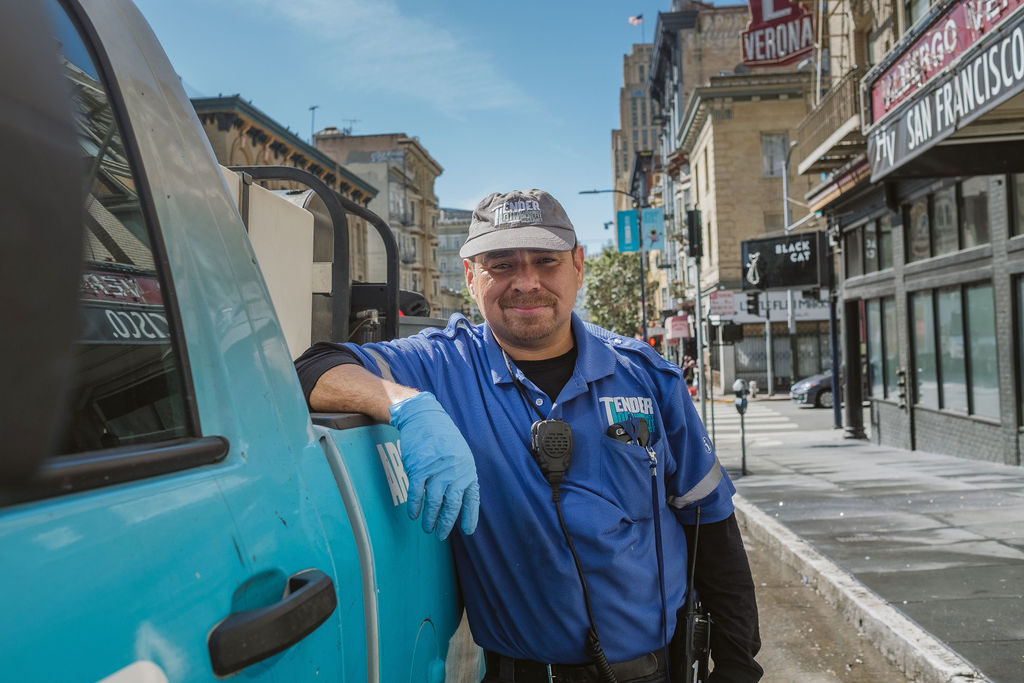 CLEANing - Our Clean Team service partners work seven days a week, focused on keeping the Tenderloin neighborhood clean.READ MORE