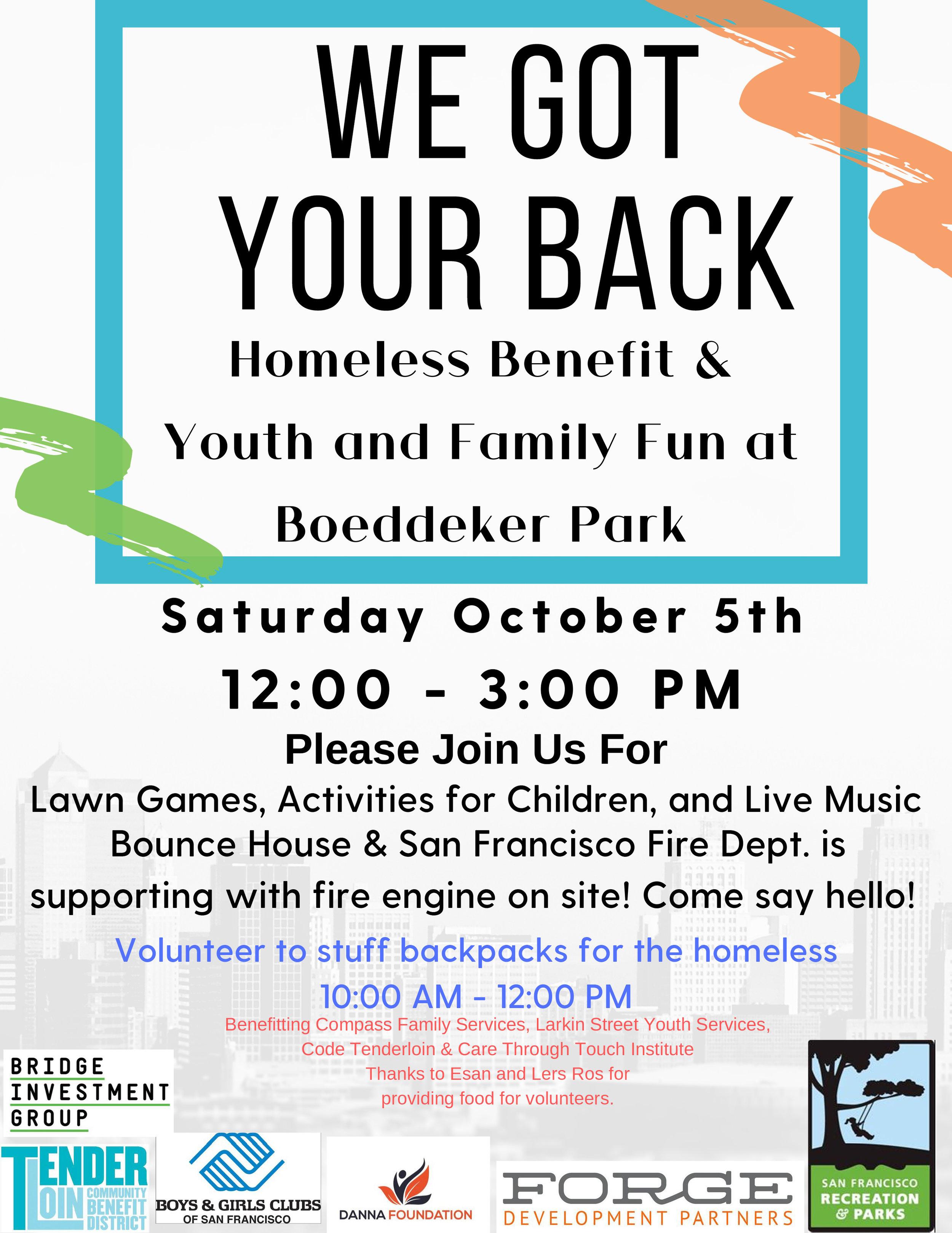 We Got Your Back Benefit Oct. 5 Boddekker .jpg