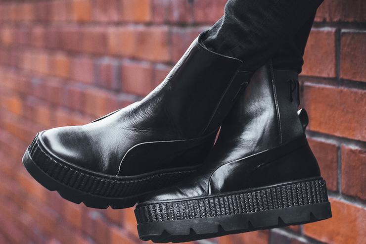 puma rihanna sneaker boot