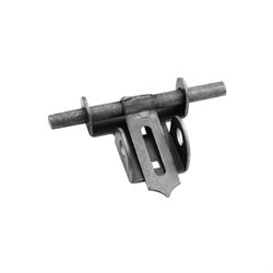 Heavy duty slide bolt latch