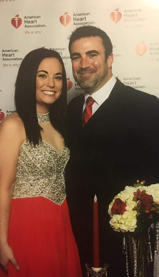 Owners, Matt & Kim Beffa at the 2017 Missouri Heart Association's Heart ball.