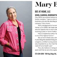 "Mary Beffa is recognized for being one of the many ""Women In Business"" and featured in Jefferson City Magazine."