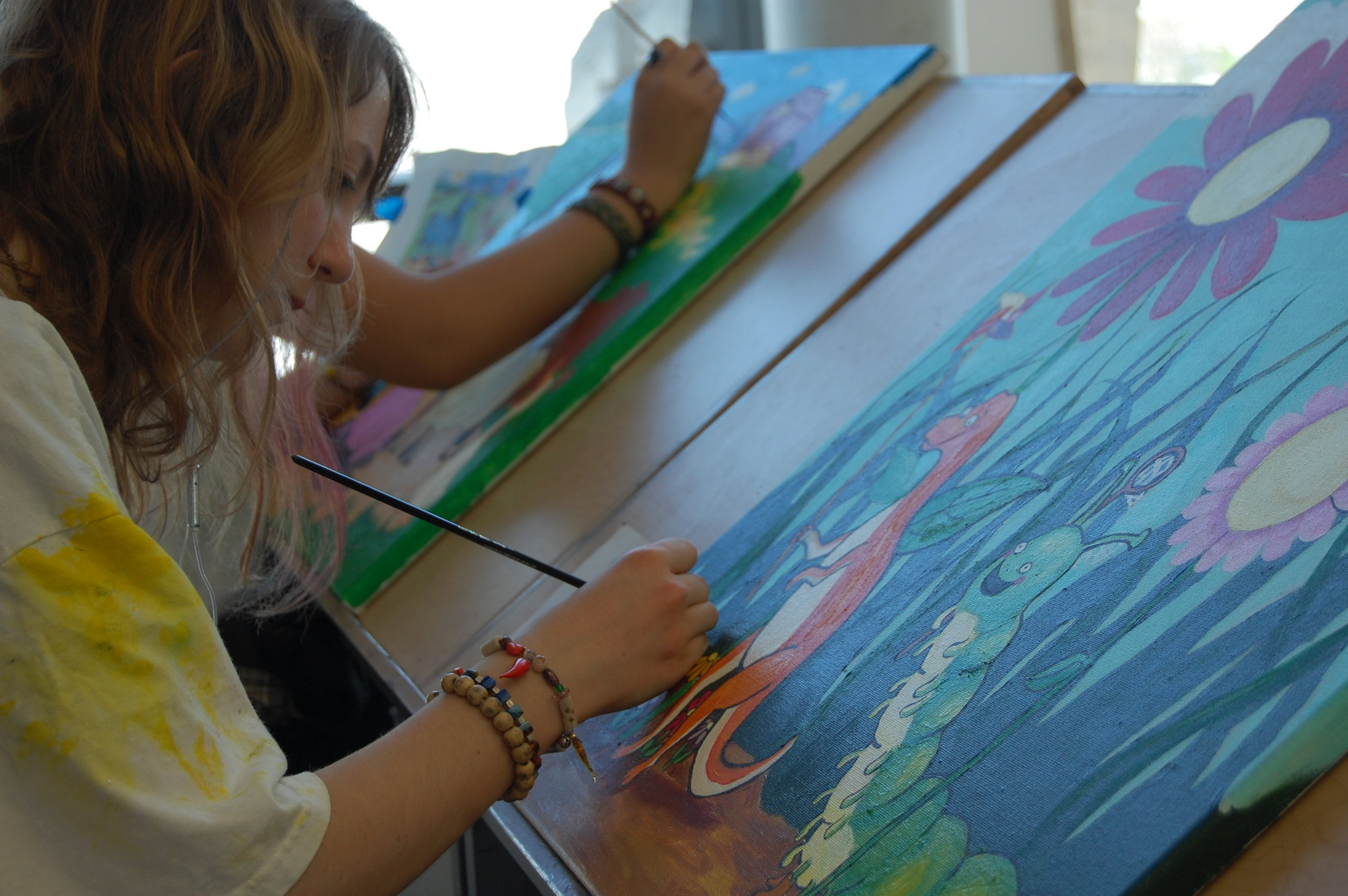 Arielle painting1.JPG