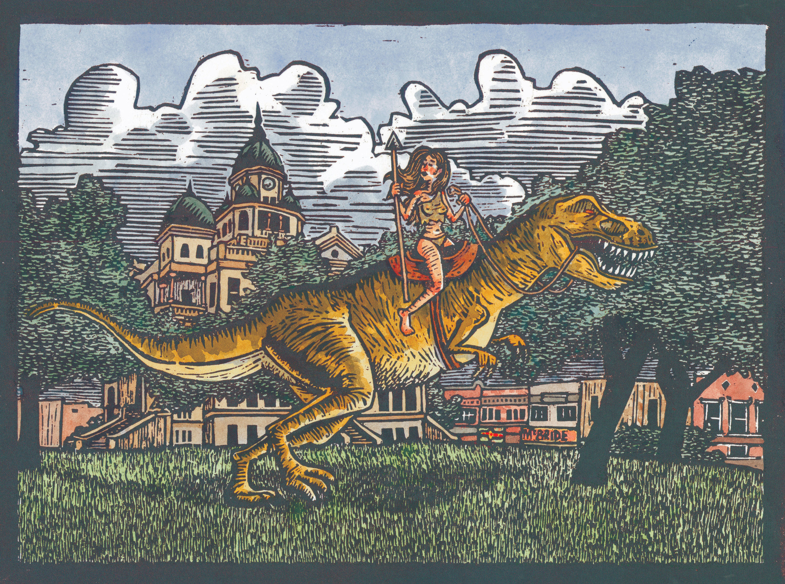 Joe Duncan,  CHOS Dinosaur
