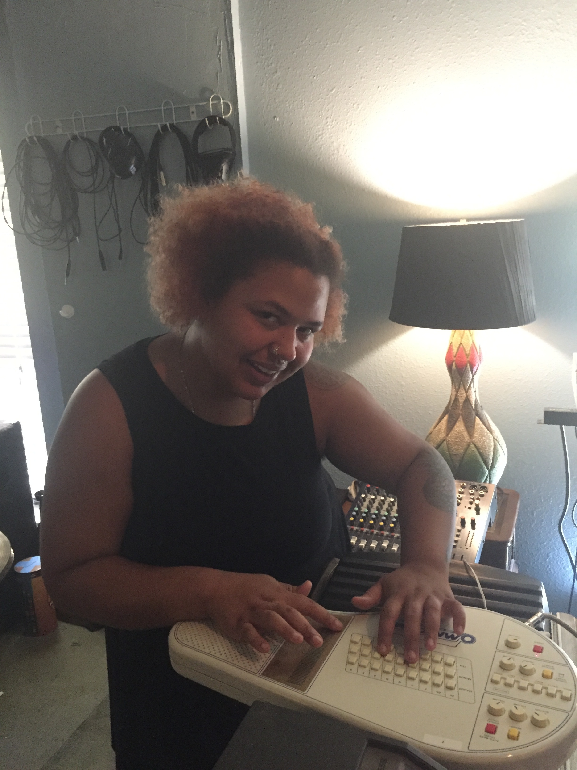 Naomi + Omnichord = Magic <3
