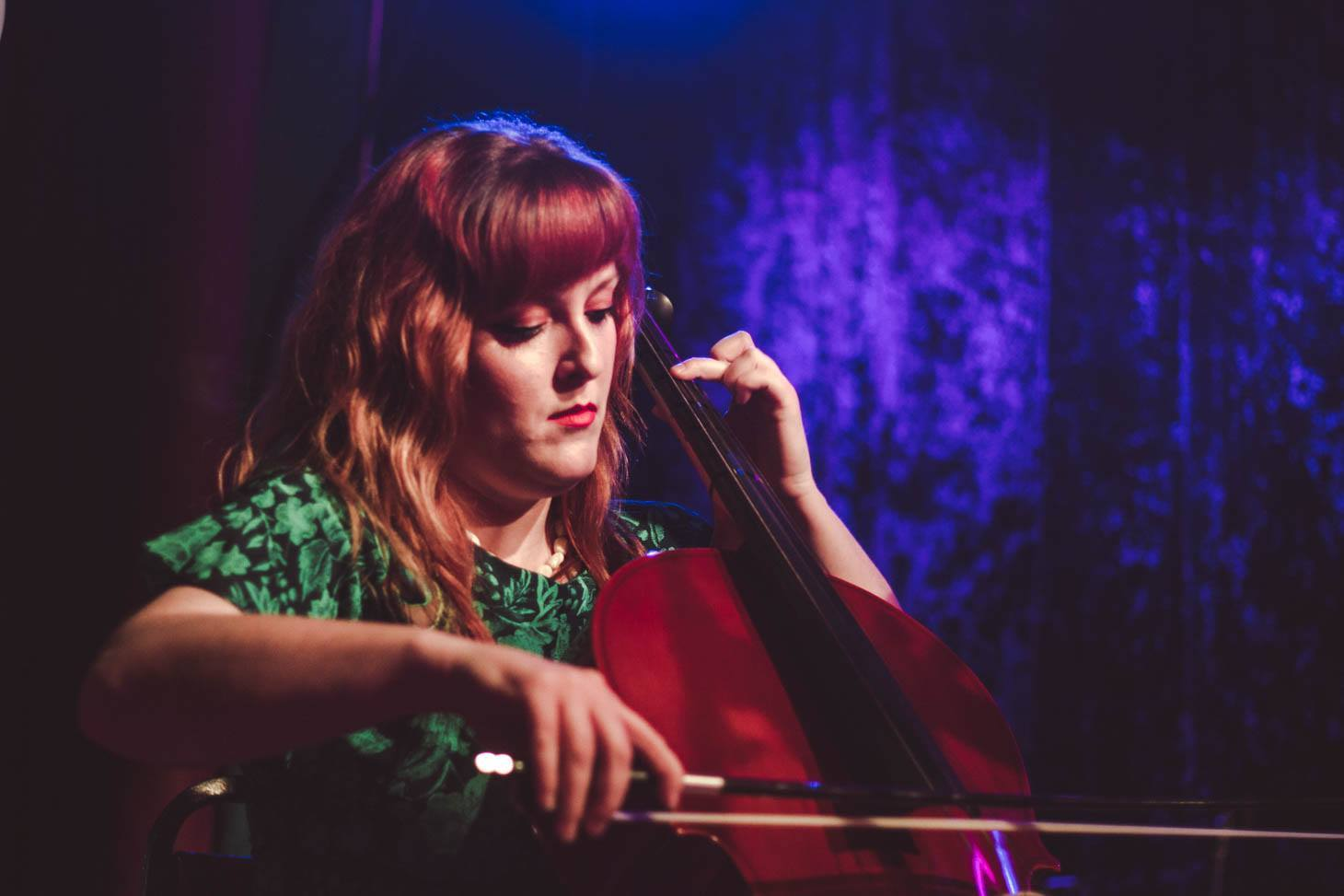 Bess Whitby  {she/her/hers}  music, poetry, performance art   Bess is a writer, cellist, and long-time Spiderwebber living in Denton. She holds an MA in creative writing from the University of North Texas and currently works as the marketing manager for UNT Press. Bess has helped organize Spiderweb shows for almost five years. Her work has appeared in dozens of the Salon's zines.   Instagram  |  Twitter  |  Facebook