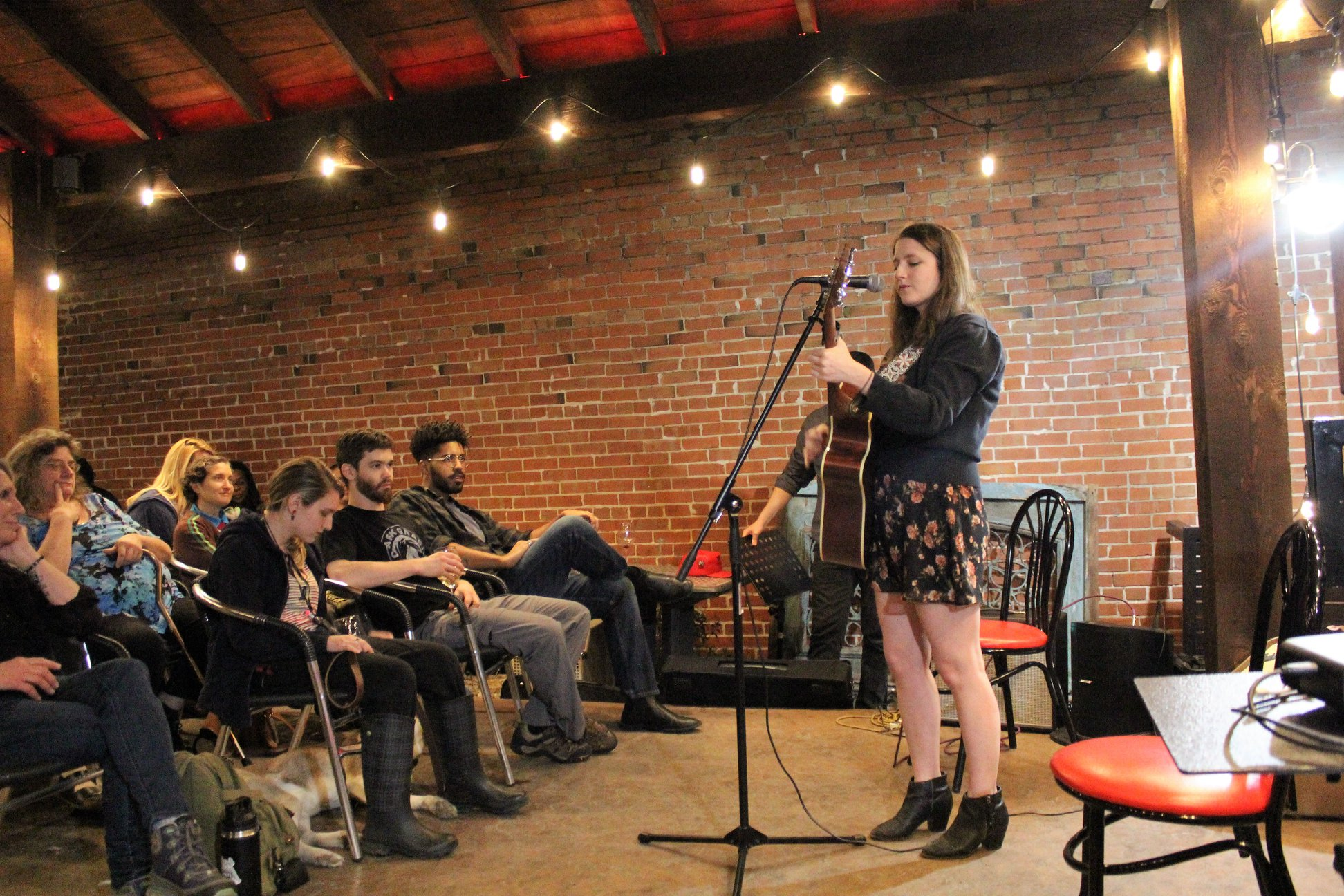 Megan Storie   music, poetry, theatre   I am a singer-songwriter based in Denton, Tx. I've had the opportunity to travel around the US playing music and hope to do more. If you are interested in collaborating or have booking inquiries you can email me at  meganstorie@gmail.com .   Instagram  |  Facebook  |  Bandcamp