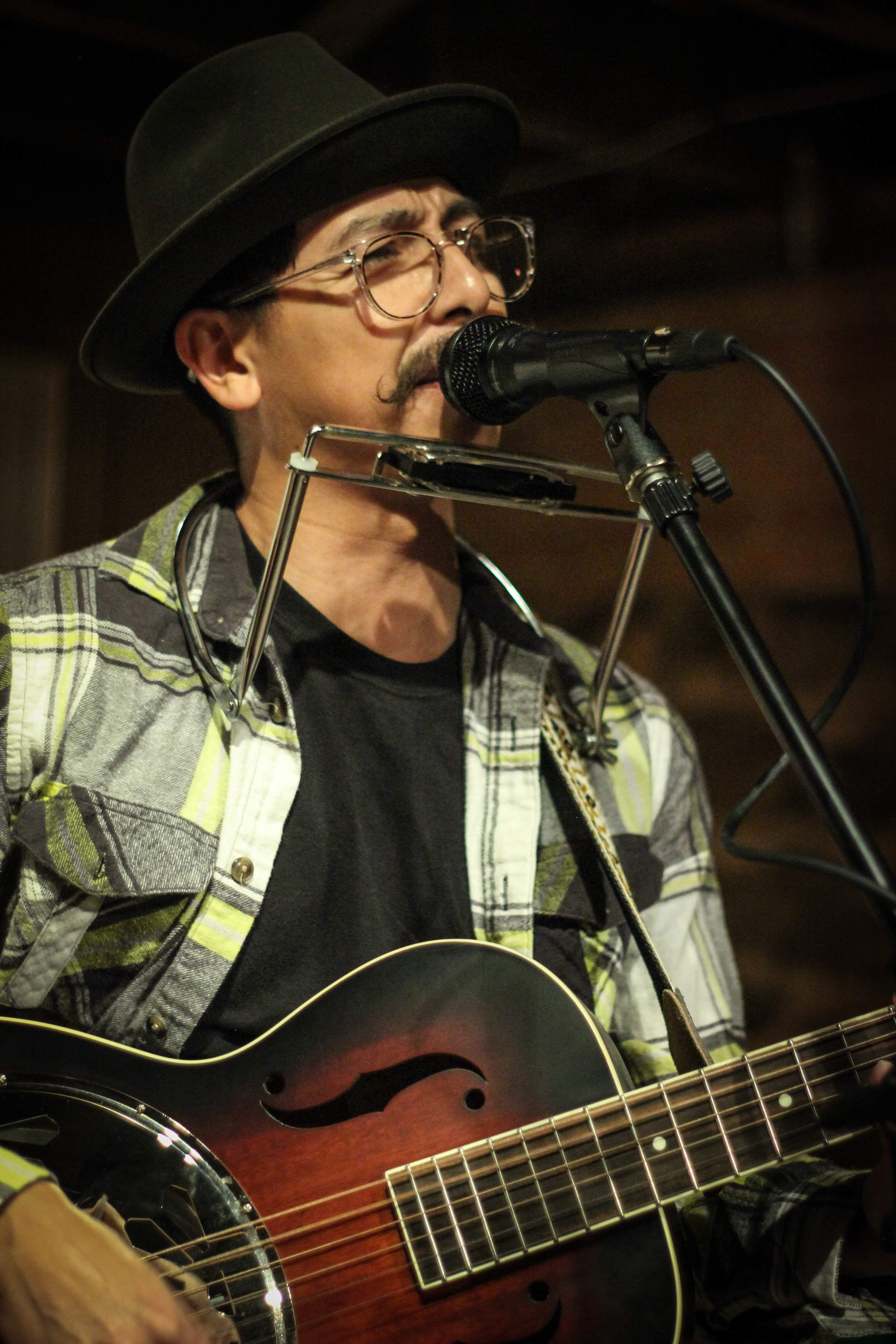 """Edgar Derby  {he/him}  music, photography   Edgar Derby is a Hobo Folk musician based in Denton, TX. His music fuses acoustic, lyric-based folk with a unique songwriting style and energetic, multi-instrumental performances. Edgar Derby's debut LP, """"Who we Are,"""" was released on 03 November, 2017. Goes well with: Shakey Graves, Lou Barlow, Slobberbone, Bob Dylan   edgarderbymusic.com  