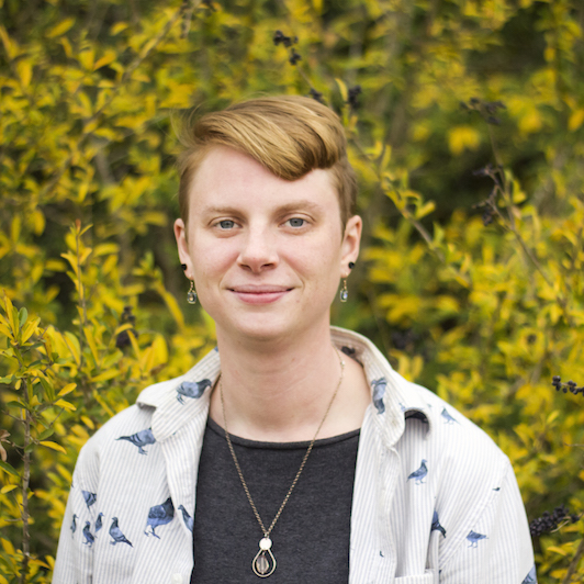 Rachel Weaver  {she/her/they/them}  writing, zines, music & performance art, gardening & environmental work   Rachel Weaver is an agrarian, community organizer, and creative. She advocates for environmental health and local food resilience. She seeks to build strong community relationships and foster opportunities for growth through transdisciplinary environmental education and creative learning.   Instagram  |  Facebook  |  Tumblr  Weaver Zines:  Tumblr  In Formed Radio - KUZU 92.9 FM:  Facebook